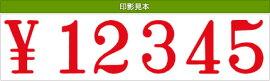 テクノタッチ回転印欧文6連(明朝体)特大号