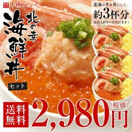 小樽きたいち 北の幸海鮮丼セット