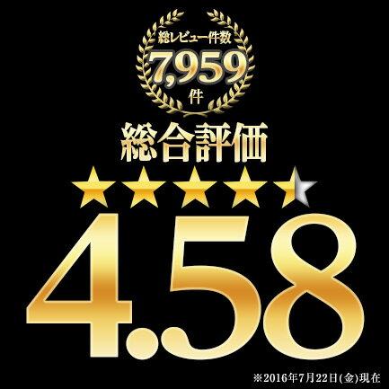 総レビュー数7,959件総合評価4.58