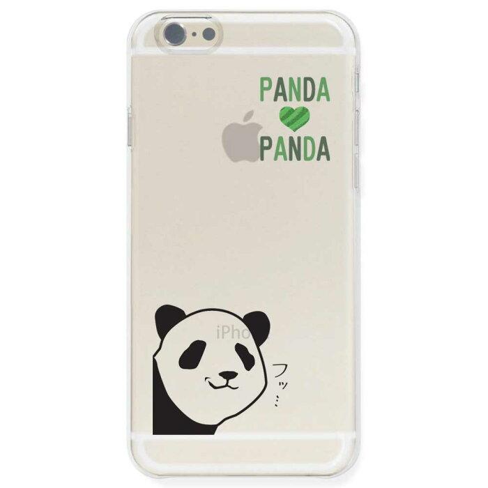 iPhone6s / iPhone6 ケース TPU ソフト クリアケース 半透明 パンダ ドヤ顔