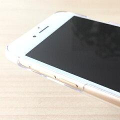 iPhone6sケースストラップホール付きハードケースポリカーボネイトクリアチョイ足しスピッツ