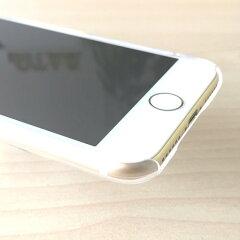 iPhone6sケースストラップホール付きハードケースポリカーボネイトクリアチョイ足しチワワ