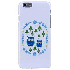 iPhone6ケース iPhone6 Plus カバーiPhoneケース アイフォン6ケースiphoneケース アイフォン ブランド iphoneカバー スマホケース ポリカーボネイトPCケース ハードケース アイホン アイホン6 ケースiPhone6 ケース ホワイト 北欧デザイン フクロウ