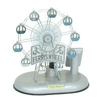 Ferriswheelソーラーランプ観覧車シルバーイシグロ2065005P20Sep14