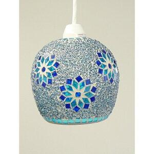 お部屋に彩りを添えるモザイクガラスのペンダントランプモザイクガラス ペンダントランプ ミフ...