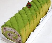 「茶句庭ながの」ロールケーキお得な2本セット抹茶ロールケーキ1本(23cm)生キャラメル1本(23cm)