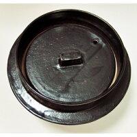 手造り対流式熱伝導旨味ごはん釜黒全幅Φ25cmH16cm3.5合まで対応可能底部センターに凸突起をつけることで対流が起こり「熱が均等に伝わり」「むらなく米が踊るように」「早く炊ける」