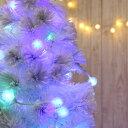 イルミネーションライト 屋外 ボール 綿あめのようなふわふわ光る 100球 10m LEDイルミ コットンキャンディ LED ライト 防水 防雨 インテリアライト 間接照明 ディスプレイ 2020 【おとぎの国】 3