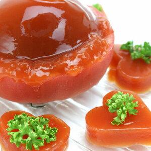 岩手県・福島県で栽培された完熟トマトを使用しましたフレッシュなトマトのジュレ・シャーベッ...
