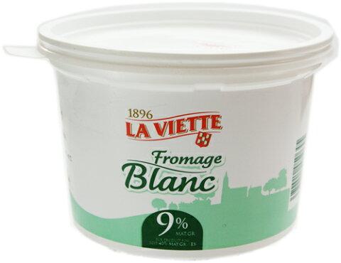 フレッシュ チーズ フロマージュ ブラン 500g フランス産 毎週火・木曜日発送