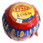 ハード セミハード チーズ エダム(赤球) 約1.6Kg オランダ産 毎週水・金曜日発送