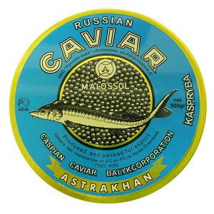 カザフスタン産天然オオチョウザメカスピ海産キャビア ベルーガ500g缶入り(冷凍)