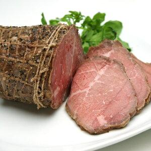 漢方牛もも肉で作ったローストビーフ漢方和牛
