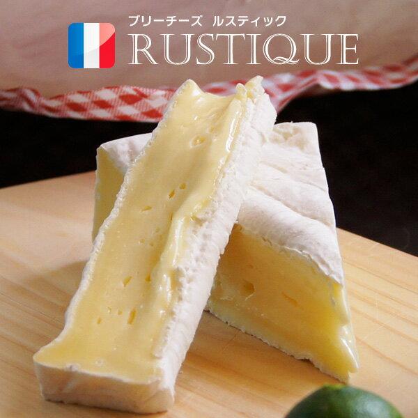 白カビチーズ ルスティック ブリー チーズ ホール 1kg フランス産