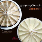 ニューヨークチーズケーキデュオ カプチーノ&プレーン送料無料 バレンタイン