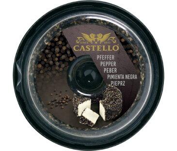 キャステロクリーム ペッパー 125g フレッシュチーズ デンマーク産