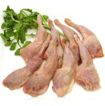 チキン うずらの骨付もも肉  12本入り 約220g (冷凍)スペイン産カイユ