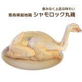 シャモロック 青森県銘地鶏 丸鶏(チルド)約2〜2.5Kg 1羽【送料込 産直品につき同梱不可、代引き不可】追加料金324円で内臓もお付けできます。 ニワトリ