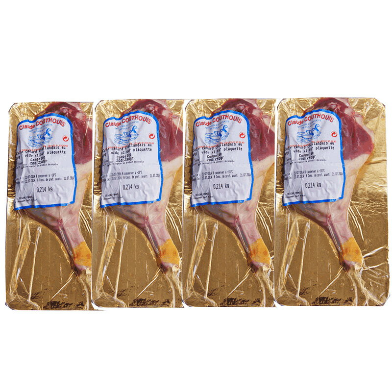 精肉・肉加工品, 鴨肉  4 250-300gx4