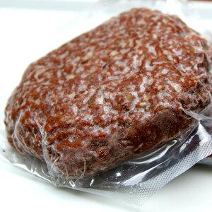 添加物不使用、北海道産の蝦夷鹿肉100%でつくったえぞ鹿肉生ハンバーグ 150gx10枚(冷凍)