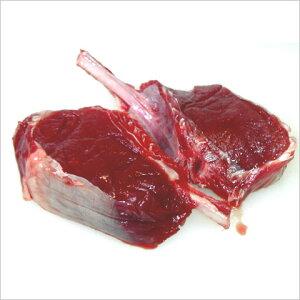 やみつきになりそう。こういうお肉をさがしてました!鹿の骨付き背肉ステーキ用 約100g以上×2枚