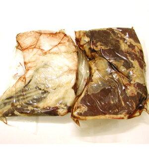 北海道産の鹿肉肩正肉。煮込みやカレー煮など用途多彩えぞ鹿肉肩正肉(煮込み用肉)カット【冷...