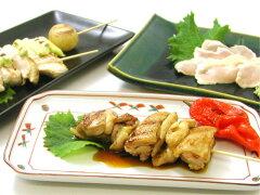 そのしっかりした肉質は三大地鶏に並ぶと評されてます青森県銘地鶏 シャモロック正肉セット1羽...