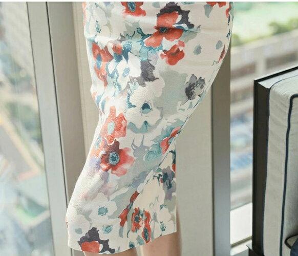 レディースワンピースタイトワンピース姫系ワンピース花柄キャバドレスVネックノースリーブ一字肩ドレスベアバックミモレ丈オシャレエレガント大人かわいい華やか上品フォーマル結婚式お呼ばれ韓国ファッション