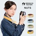 カメラストラップ かわいい おしゃれ 一眼レフ 女子 ミラーレス 男女兼用 BROOKLYN FACTORY NUTS [M便 1/2]