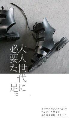 グラディエーターサンダル。ブーツサンダル。ブラック。この一足で私は最強。4/1922時販売新作×メール便不可