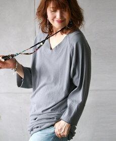 ビッグシルエットTシャツ。ロングワンピース。グレー。ビッグシルエットTシャツ6/1422時販売新作×メール便不可