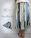 【再入荷♪9月28日22時より】ストライプラップスカート7/24 22時販売新作×メール便不可