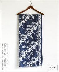 香り立つ花刺繍ストール