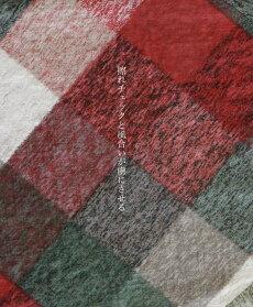 (レッドチェック)結んで魅せるリボン袖チェックトップス8/3022時販売新作〇メール便可
