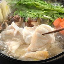 ふぐより美味しいと言われる幻の魚をプロの目利きで厳選!■送料無料■天然くえ鍋用セット/鍋セ...