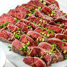 熟成肉 送料無料 黒毛和牛あぶり 500g (牛肉 ステーキ たたき) タレ付