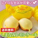 レモンケーキ ギフト 【送料無料】 レトロで可愛らしい包みが...