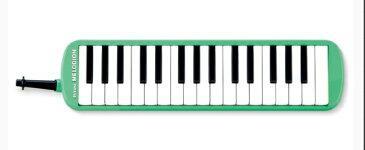 ♪スズキ メロディオン  MXA-32G グリーン(NEW) スズキ 鍵盤ハーモニカ