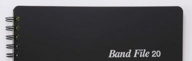 ♪バンドファイルブラックBF1015-01