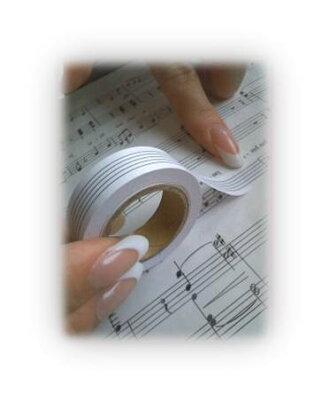 ♪簡単五線テープ五楽線(ごらくせん)アイデアグッズ