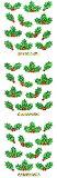 ♪クリスマスシール  プリズムシール ヒイラギ  XP 051 ステッカーファン