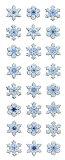 ★クリスマスシール グリッターシール 雪の結晶