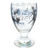 ◎NEKOにゃ〜ごジュースグラス 音符  KO9015-01 音楽雑貨 ピアノ 発表会 記念品 ちょっとした贈り物に