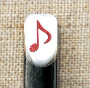 【音楽雑貨】YOUKOU1013♪スプーン 8分音符(レッド) CH702RE M