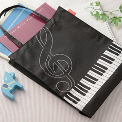 新着商品★ピアノライン縦型トート(ト音記号)【Pianoline】