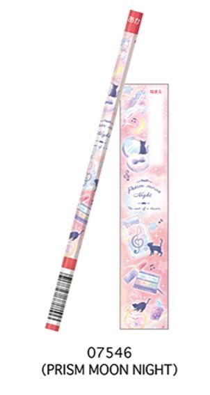 07546  1本販売 かきかた 赤鉛筆 PRISM MOON LIGHT カミオジャパン
