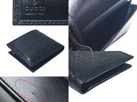 音羽屋■送料無料■グッチGGインプリメ1462232778二つ折り財布未使用【中古】