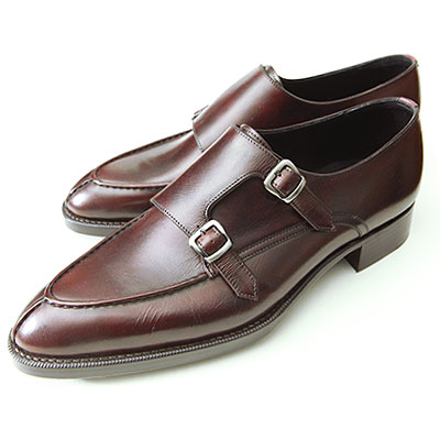 【OTSUKAM-5Hi-designWorks】M5-1109 スペードソールダブルモンクUチップバーガンディ・ダークブラウン:OTSUKA M-5 ONLINE(大塚製靴)