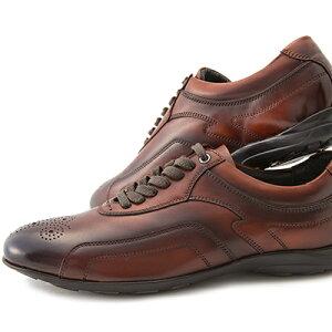 [レザースニーカー×大塚製靴]HS-6015オーツカレザースニーカーエディション2[140年の歴史を持つ老舗ブランドの新提案by大塚製靴/OTSUKA/オーツカバーガンディ/ブラック/ブラウン/ダークブラウン[メンズ/カジュアル/ビジネス]