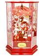 【雛人形】吉徳大光作「吊るし雛」ケース飾り351-861